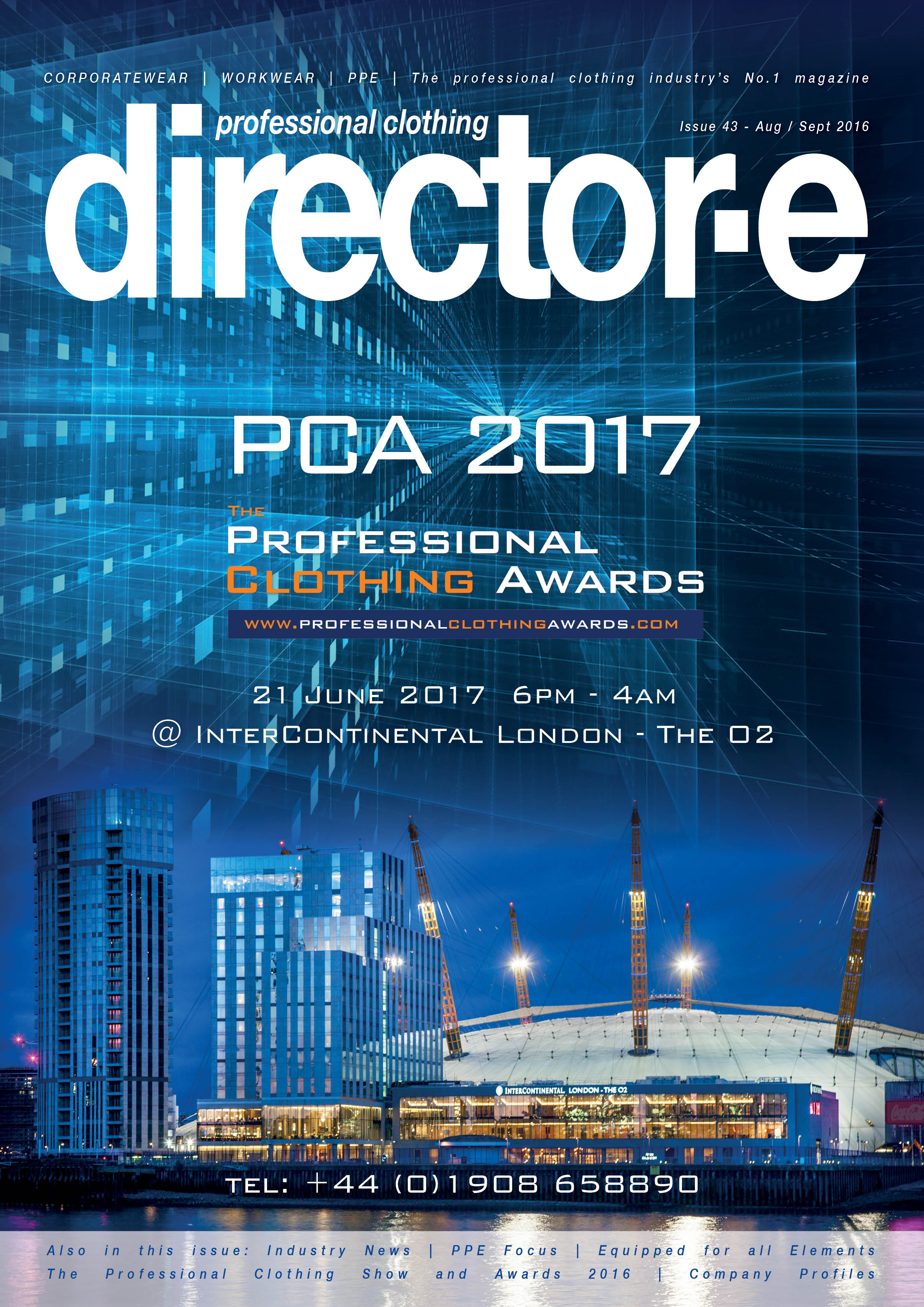 Director-e 43 Aug-Sept 2016 Front cover
