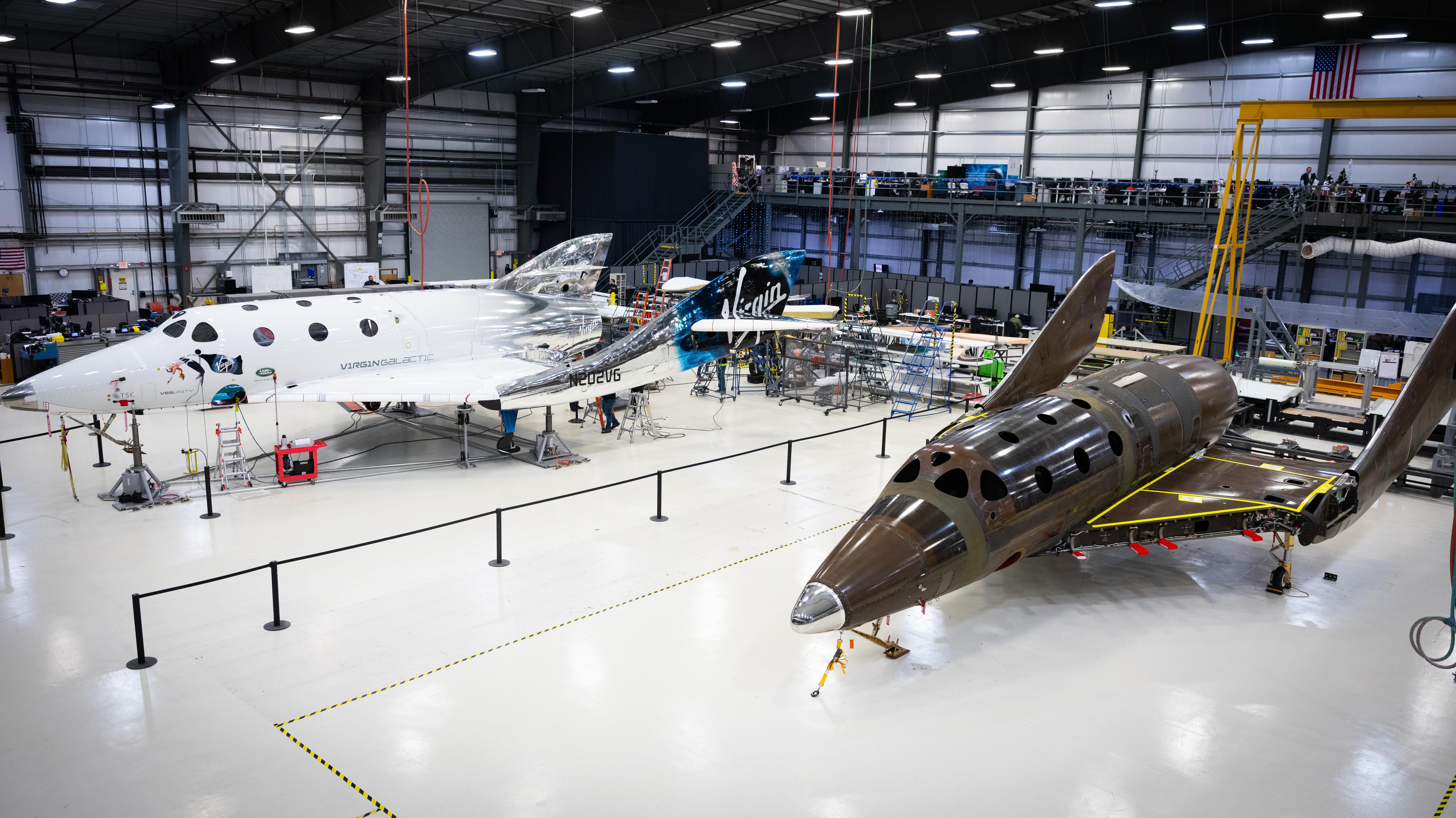 PCIAW   PCIAW News   Virgin Galactic Holdings, Inc. reaches another major build milestone