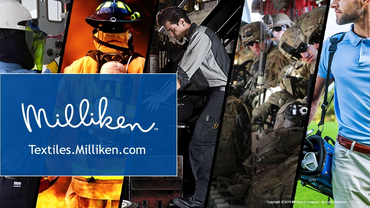 PCIAW   PCIAW News   Milliken & Company prioritize production of Advanced Anti-microbial BioSmart® Fabric for front-line medical workers