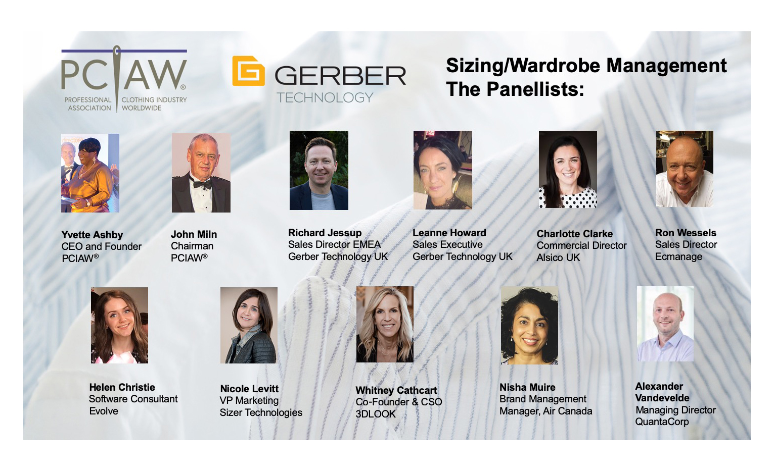 PCIAW® 'Sizing/Wardrobe Management' Webinar