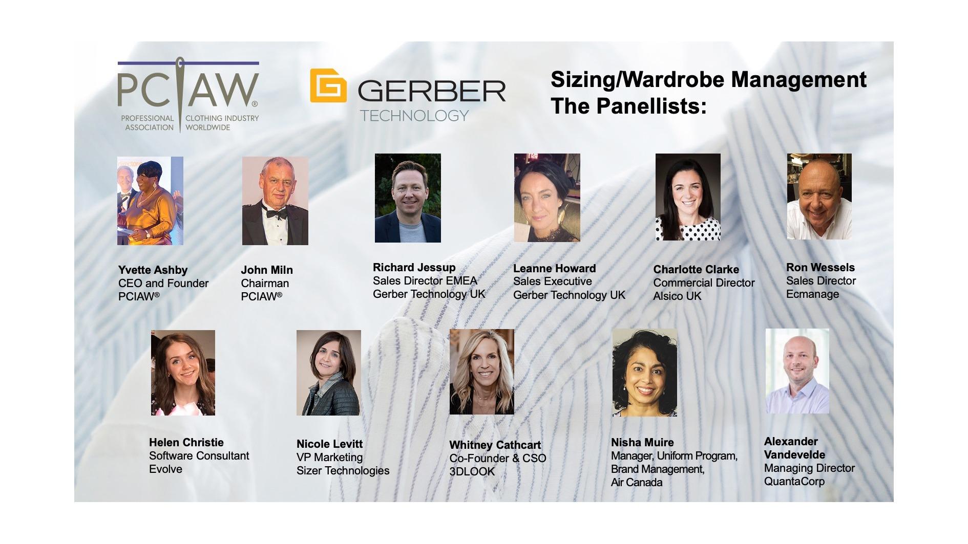 Sizing-Wardrobe Management panellists