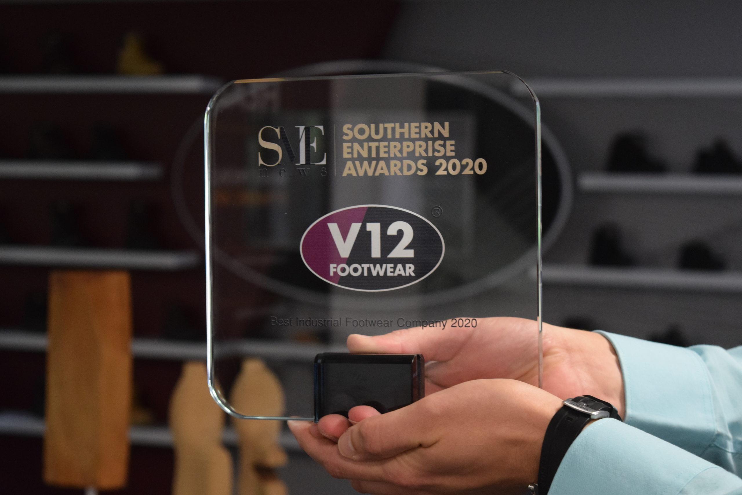 V12 Footwear awarded Best Industrial Footwear Company