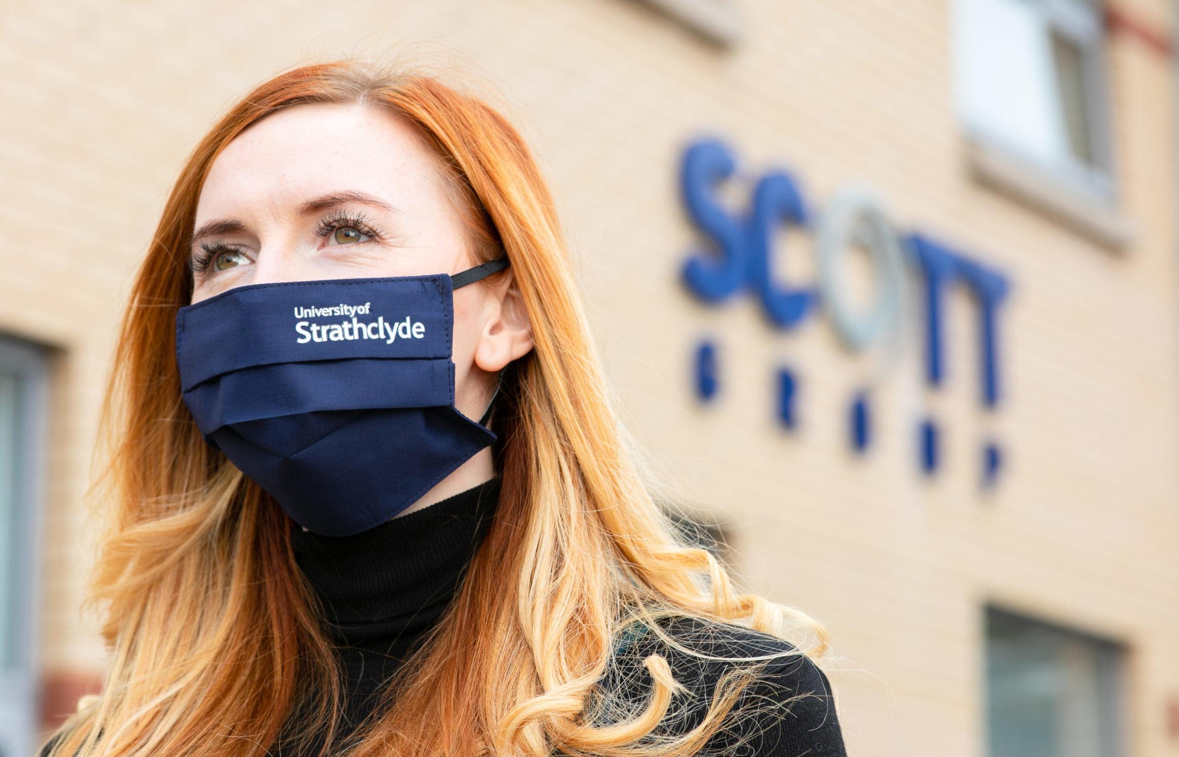 Seahawk Apparel branded face mask