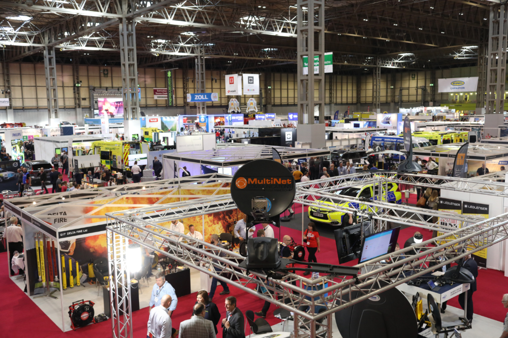 The Emergency Services Show, 7th to 8th September 2021.