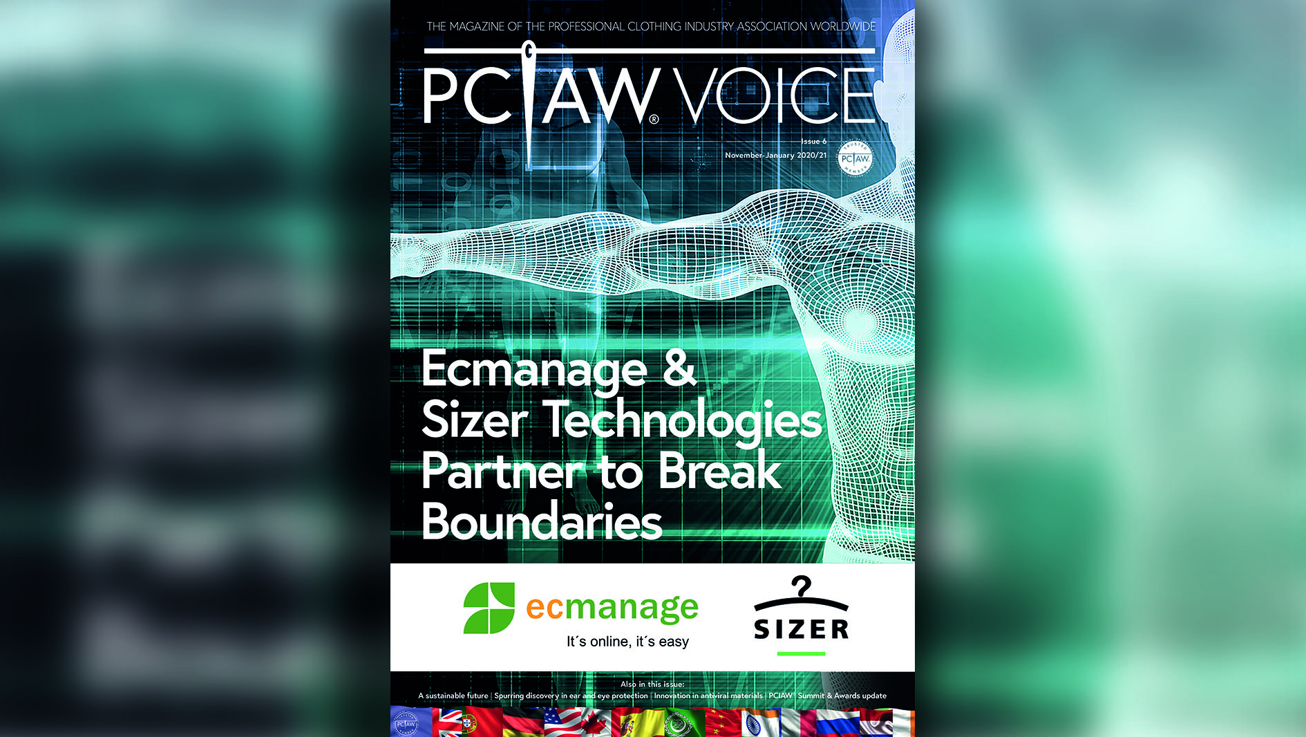 PCIAW®VOICE Issue 6 - Front cover