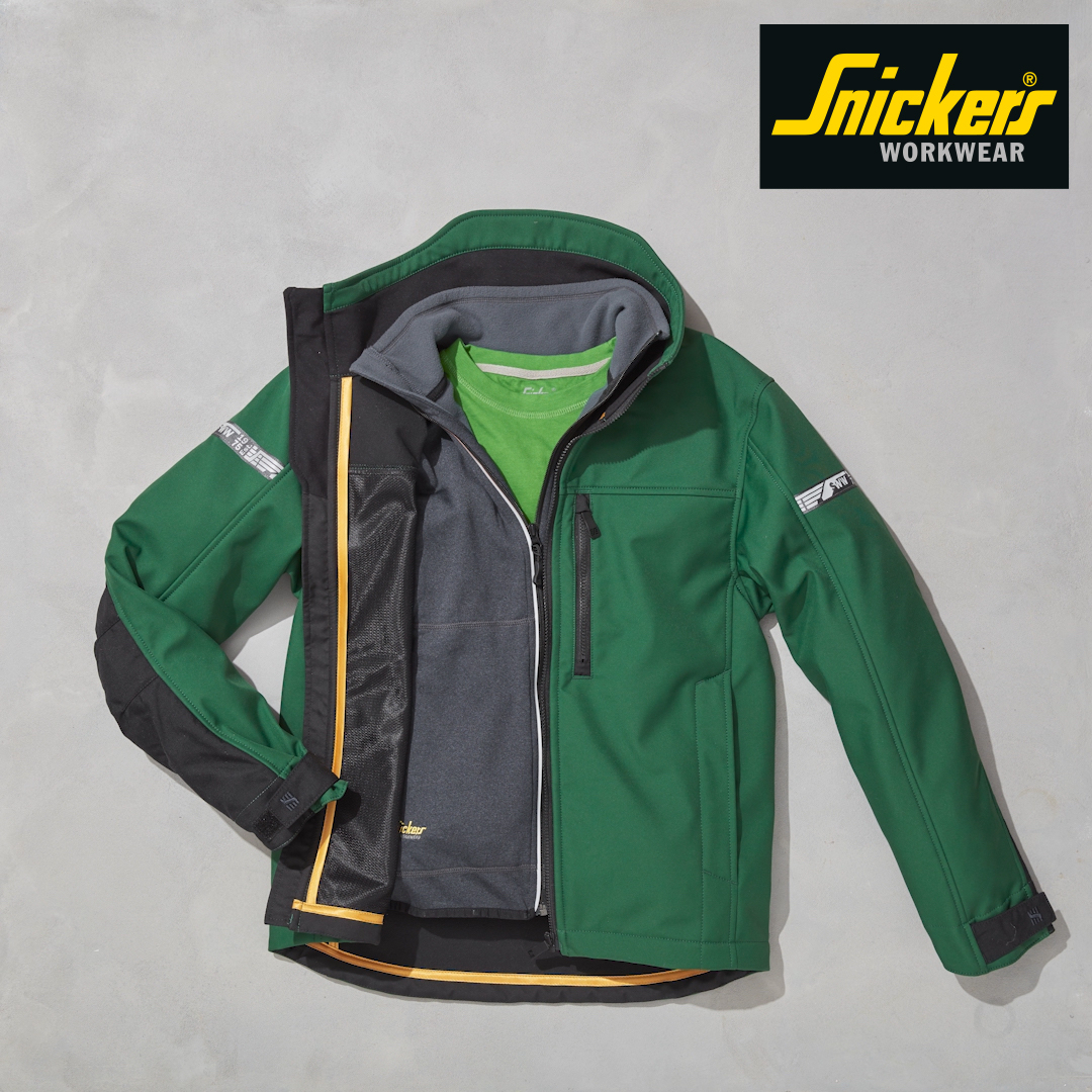 Snickers workwear, protectivewear, performancewear and leisurewear.
