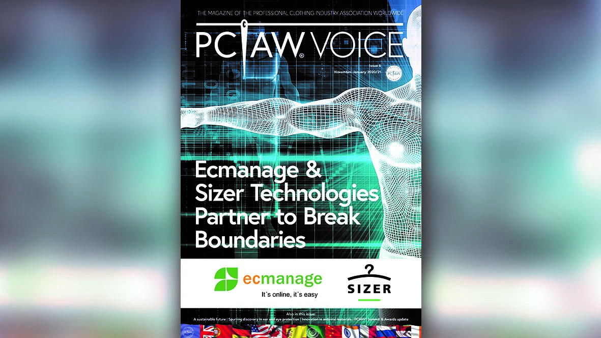 PCIAW®VOICE is the industry's leading sector-specific magazine dedicated to the multi-faceted professional clothing industry.