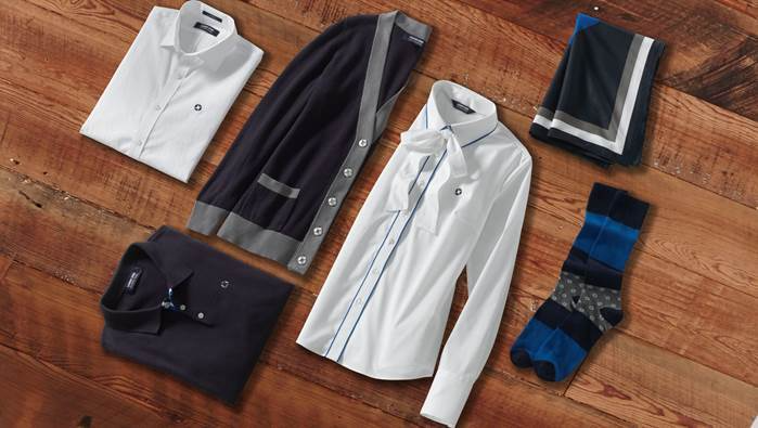 Lands' End, Chase and Essence are proud to unveil a new collection of employee uniforms designed by Deidre Jeffries, winner of the inaugural Banking on Style design competition.