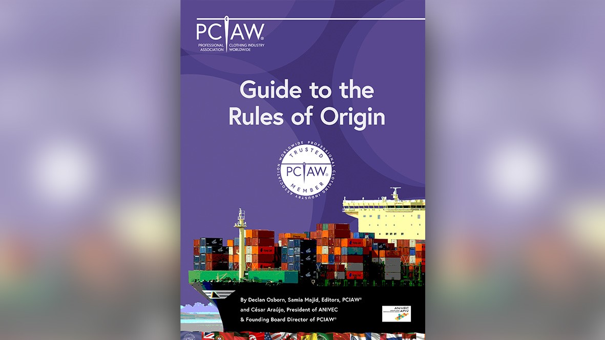 The PCIAW® has published an exclusive and highly informative Guide to the Rules of Origin after receiving numerous enquiries from the professional clothing industry in relation to the EU-UK Trade and Cooperation Agreement, which marked the end of the Brexit transition period on 1st January 2021
