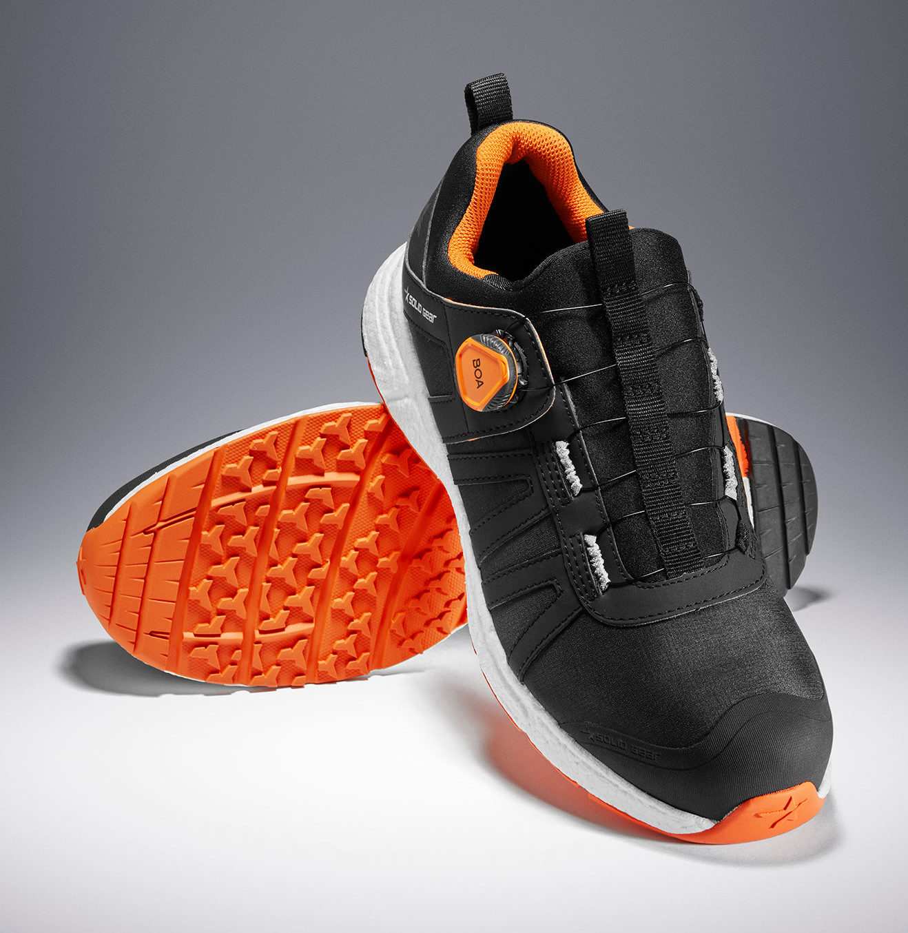 Solid Gear Safety Footwear's latest safety shoe is a market-leading product, combining the best in safety and sports footwear technology.