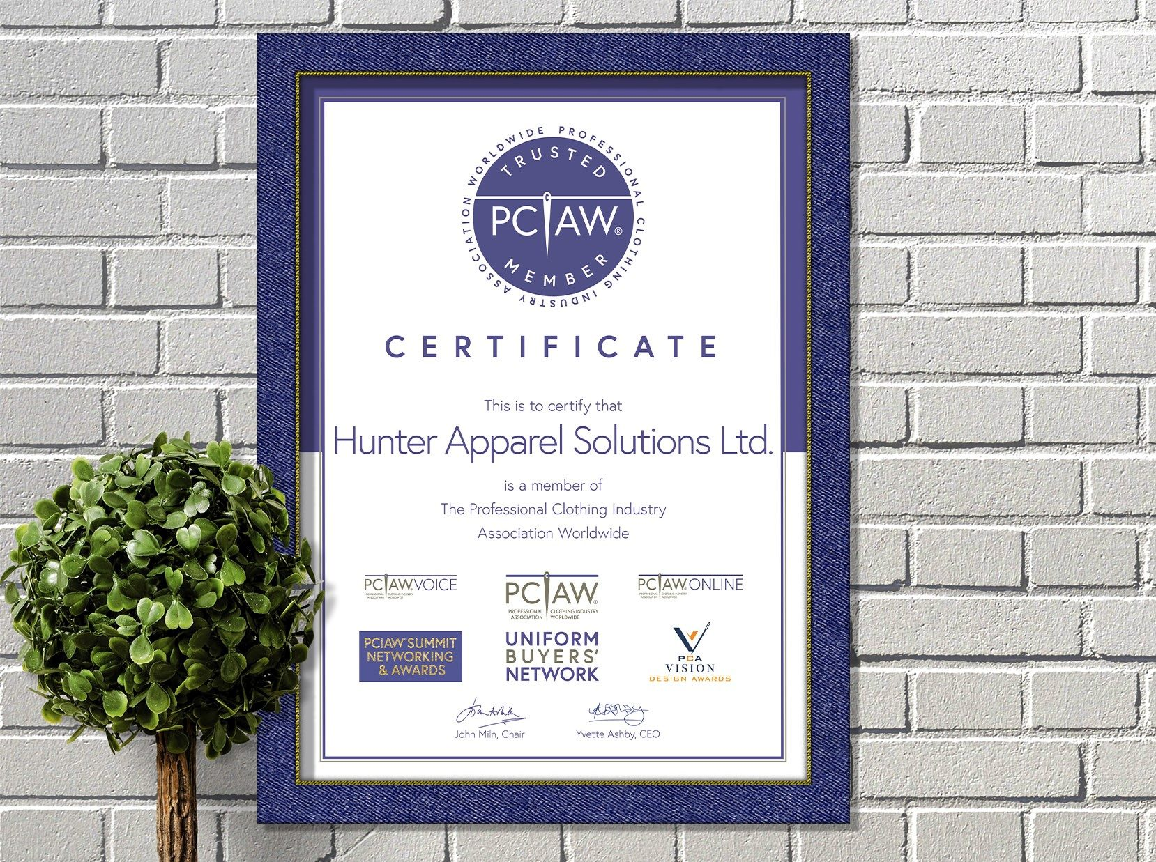 The PCIAW® is proud to include Hunter Apparel Solutions Limited, the multi-award winning software company, as a PCIAW® Trusted Member.