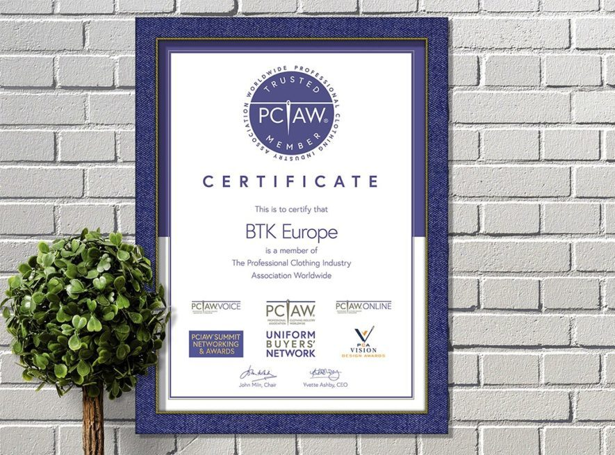 The PCIAW® is proud to announce that BTK Europe is officially a PCIAW® Trusted Member.