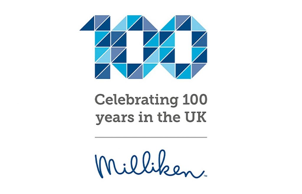 Leading flooring designer and manufacturer Milliken is proud to be celebrating its 100th year of production in Britain.