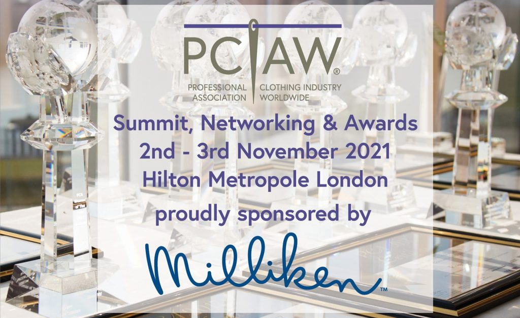 The highly-anticipated PCIAW® Summit, Networking & Awards event on the 2nd - 3rd November 2021, sponsored by Milliken & Company, is set to be relocated to the Hilton London Metropole, one of the largest and most prestigious hotels in Europe.