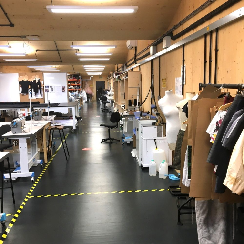 Making for Change, London College of Fashion's groundbreaking social project was established in partnership with HM Prison Service Business Development Unit and the Ministry of Justice in 2014.