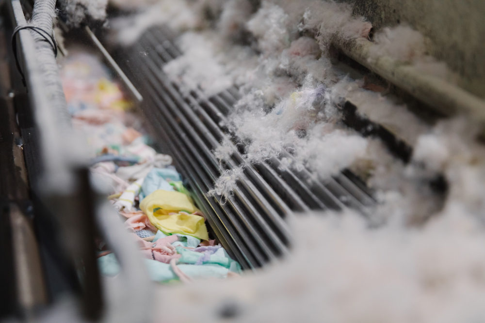 Recover saw recycling fibres as a way to transform the fashion industry long before it was fashionable. It has been perfecting its technique ever since, with today's urgency for climate action boosting global demand for recycled textiles, including cotton.