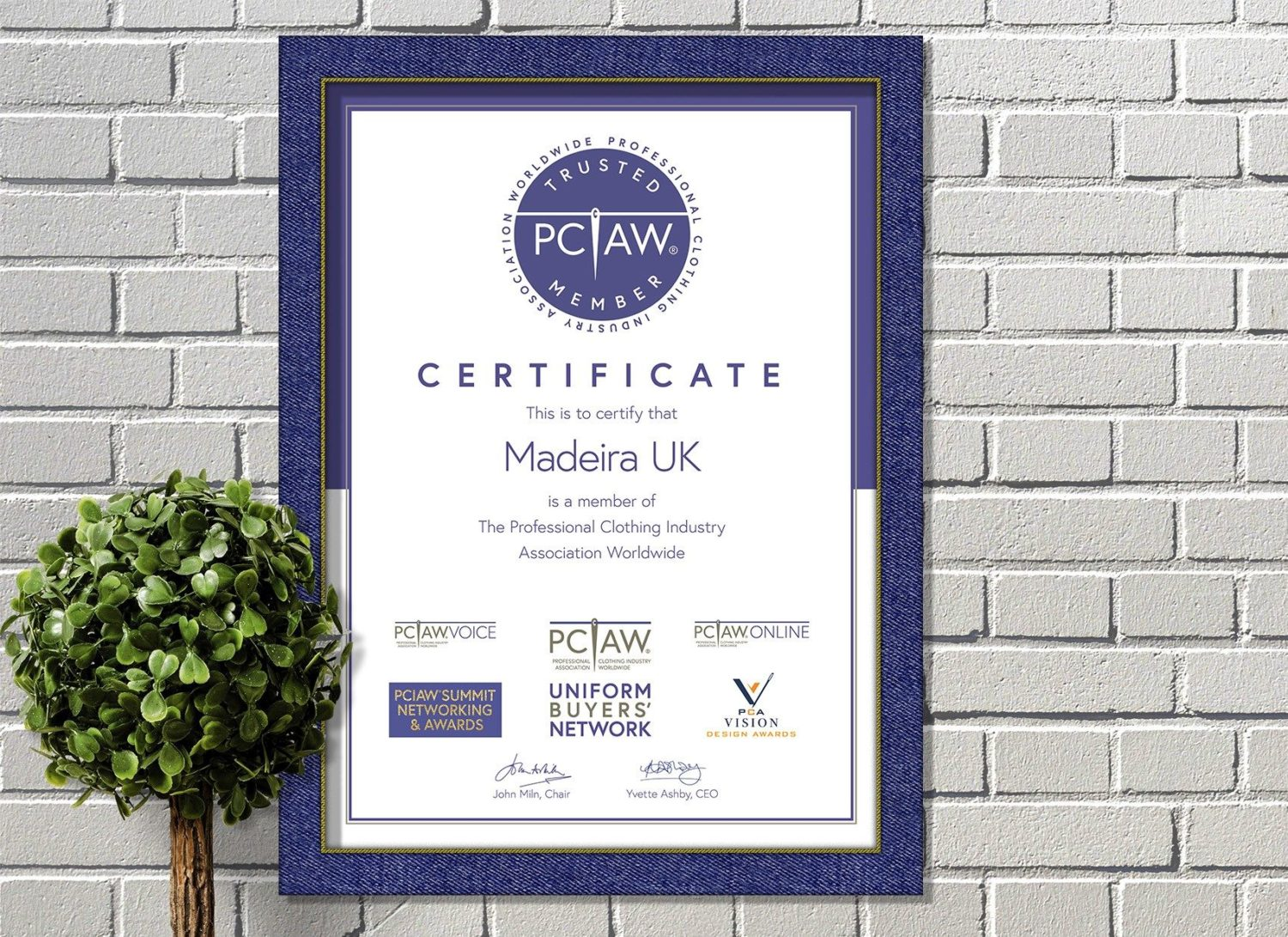We're excited to welcome Madeira UK, the renowned embroidery thread manufacturer, as the newest Trusted Member of PCIAW®